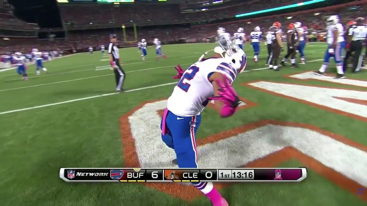 Fred Jackson TD - Browns vs. Bills, 10/3/13