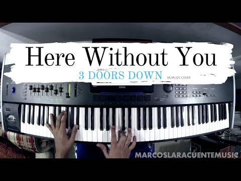 3 Doors Down - Here Without You (Piano Cover)