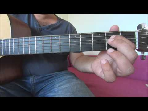 How to play Fallin' - Alicia Keys easy guitar tutorial