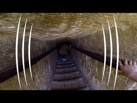 Enter The Egyptian Pyramid of Teti (BINAURAL AUDIO IMMERSION)- The Sound Traveler