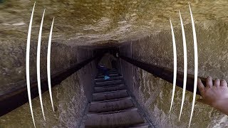 Enter The Egyptian Pyramid of Teti (BINAURAL AUDIO IMMERSION)- The Sound Traveler