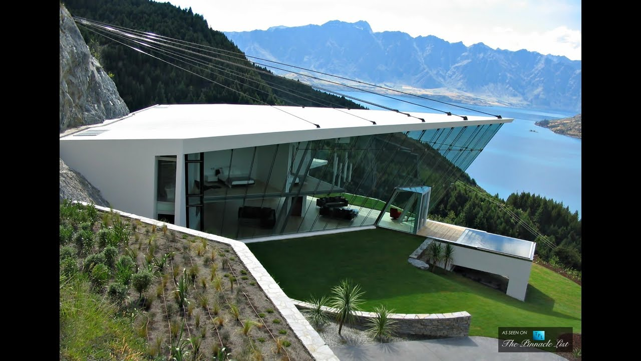 Futuristic Ultra Modern Luxury Home With 270 Degree Panoramic Views In  Queenstown New Zealand