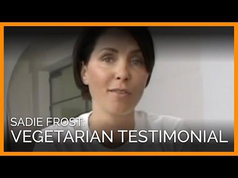 Sadie Frost: Vegetarian Testimonial for PETA