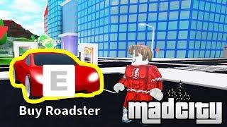 I GOT the TESLA ROADSTER [1 MILLION CASH VEHICLE] | Roblox Mad City