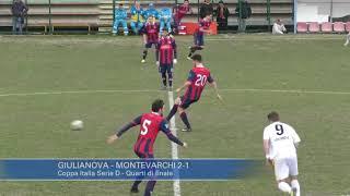 Coppa Italia Serie D Real Giulianova-Aquila Montevarchi 2-1