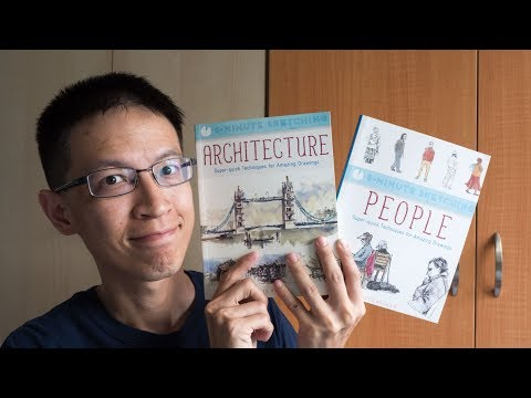 Book Review: 5 Minute Sketching: Architecture & People