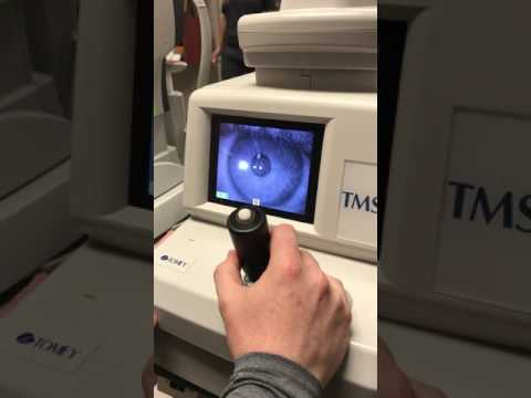 Tomey TMS-4 Corneal Topography