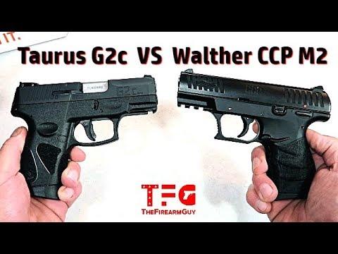Taurus G2c VS Walther CCP M2 - TheFireArmGuy