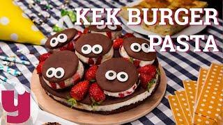 Kek Burger Pasta Tarifi (Pofuduk Pofuduk!) | Yemek.com