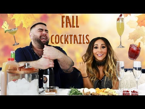 Snooki & Joey's Fall Cocktails