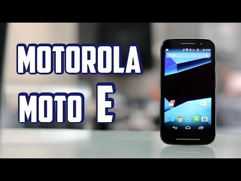 Motorola Moto E, review en Español