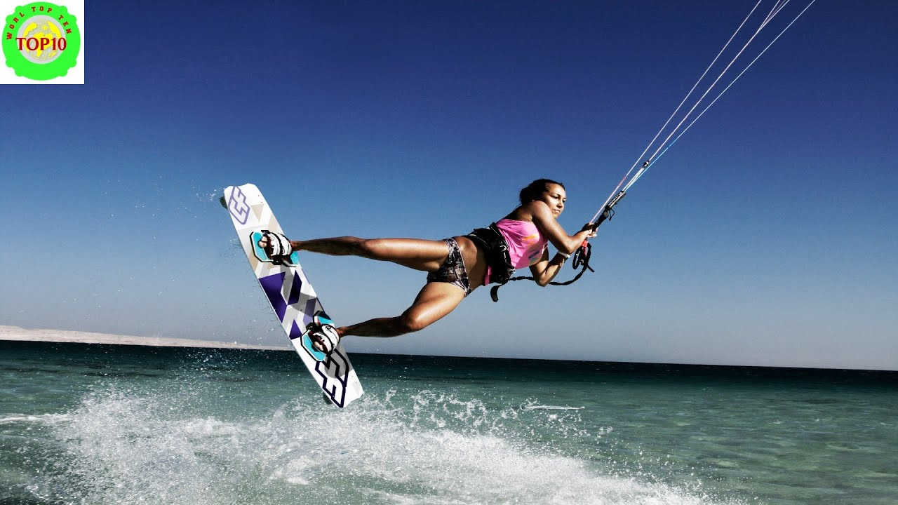 10 Most Exciting Water Sports