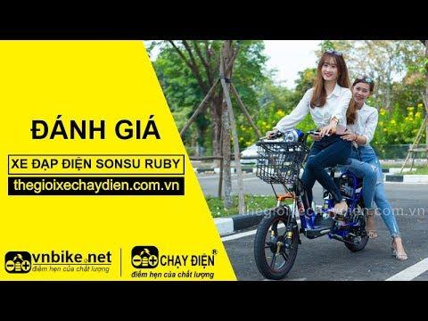 Đánh giá xe đạp điện Sonsu Ruby