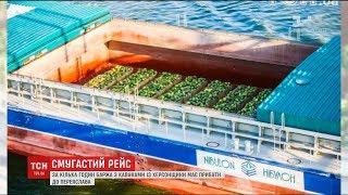 Славнозвісна баржа з кавунами прибуває до Переяслава Хмельницького