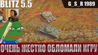 WoT Blitz   Свинство союзника для Об.140 и как рак тащит катку   World Of Tanks Blitz WoTB