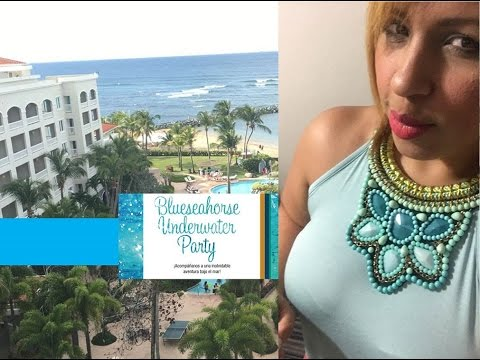 VLOG: Underwater Party- Embassy Suites, Dorado Puerto Rico