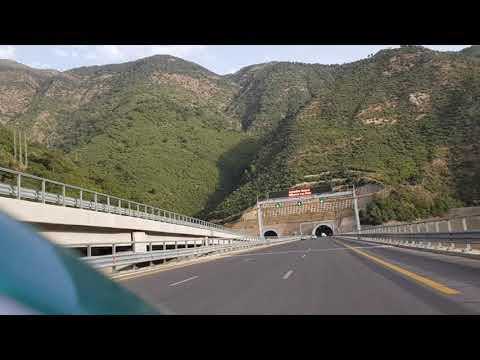 لحظة دخول النفق الجديد الجزائر #Tunnel