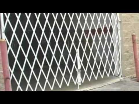 Accordion Style Scissor Gates 8882703636  YouTube