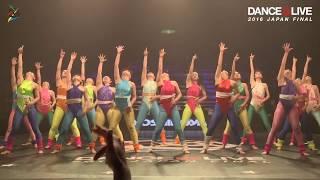 関西代表 大阪府立登美丘高等学校/TDC HSDC / DANCE@LIVE 2016 JAPANA FINAL MAINSTAGE