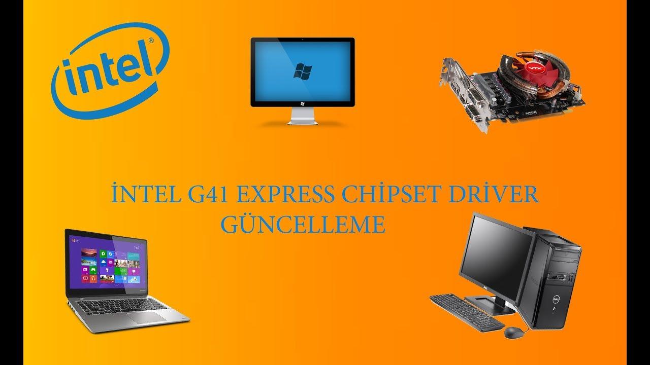 Драйвер intel g41 express chipset скачать