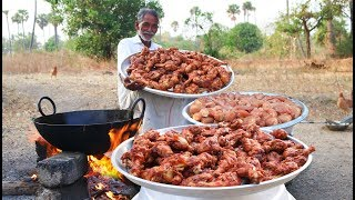 100 Chicken Drumsticks Recipe | Chicken Legs Fry  Grandpa Kitchen