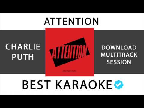 ATTENTION - CHARLIE PUTH (KARAOKE - INSTRUMENTAL - MULTITRACK) 137