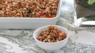 Desserts Requireds Gingerbread Pear Crumble