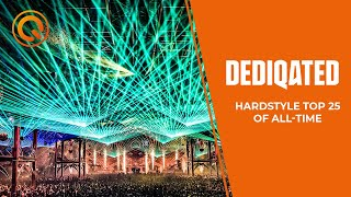 Hardstyle Top 25 | DEDIQATED | 20 Years of Q-dance