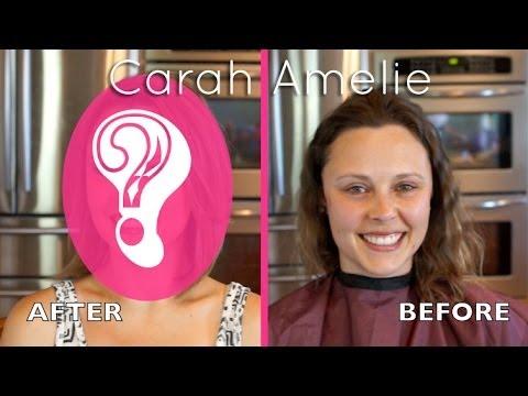 FULL MAKEOVER #2!! - CarahAmelie - Cut, Color & Makeup on Kelley