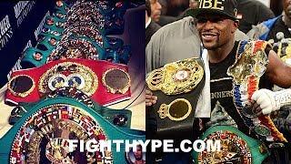 MAYWEATHER STUNTS ON WBC, WBA, IBF, AND WBO; EXPLAINS WHY