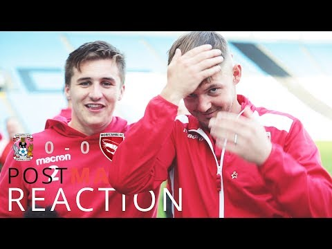 REACTIONS | Coventry City 0-0 Morecambe