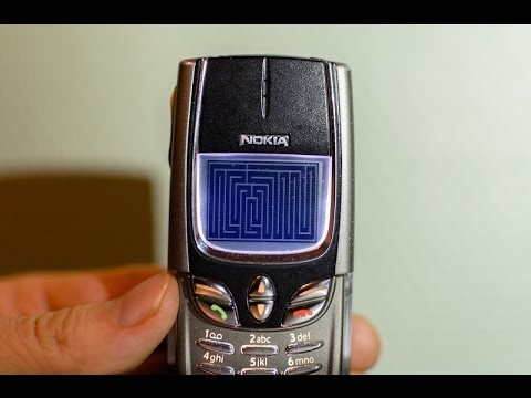 Snake on Nokia 8850: Full Screen & 2008 Points *WORLD RECORD*