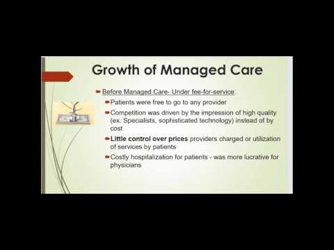 Chapter 9   Managed Care and Integrated Organizations Lecture   HSA 6103