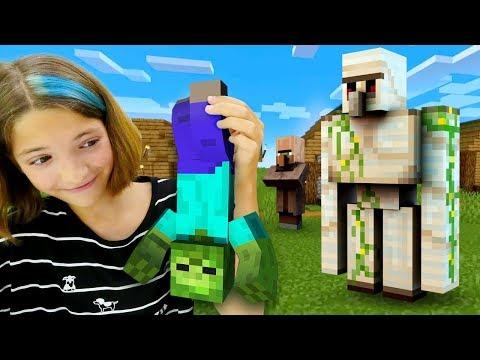 Видео игры - Minecraft Челлендж без сна! - Выживание в Майнкрафт со Светой ч.2