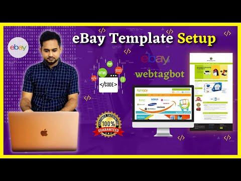 EBay Template Setup Video Tutorial | EBay Tagbot | EBay Template Setup | Ebay HTML Setup