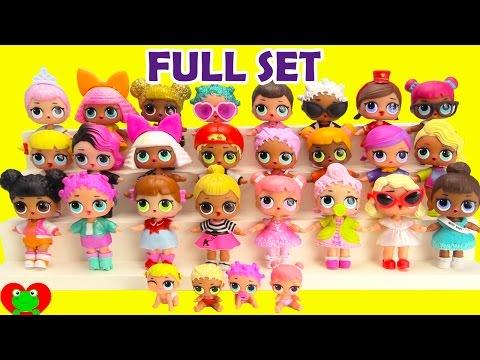 L.O.L. Dolls FULL SET Complete Collection