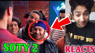 Harsh Beniwal In Student Of The Year 2 - His Reaction | SOTY 2 Trailer | GauravZone Not In FanFest |