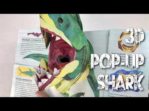 3D Pop-Up Encyclopedia Prehistorica: Sharks and Other Sea Monsters Book by Matthew Reinhart Review