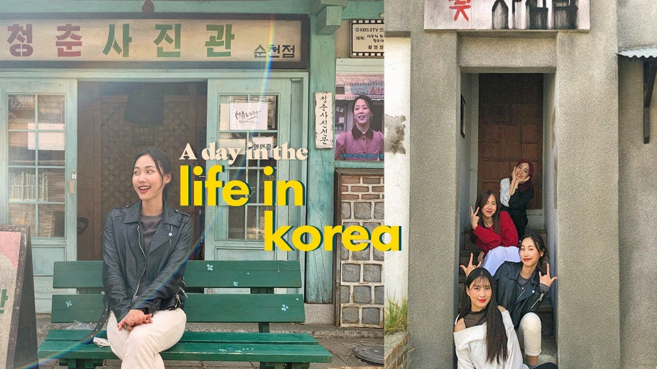 Life in Korea | Inside a HUGE K-drama Filming Set