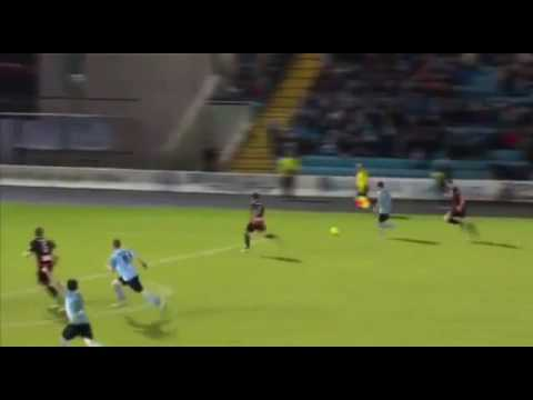 Ballymena united v coleraine 3-0, league cup semi-final 2016, Darren Henderson goal to titanic music