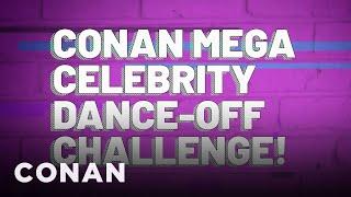 Conan's Mega Celebrity Dance-Off Challenge! - CONAN on TBS