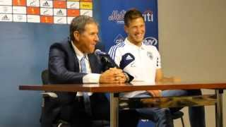 Press Conference Israel vs. Honduras FIFA Friendly Soccer Game at Citi Fields