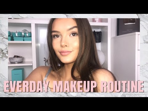 EVERYDAY MAKEUP ROUTINE!   India Grace