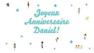 ♫ Joyeux Anniversaire Daniel! ♫ Resimi