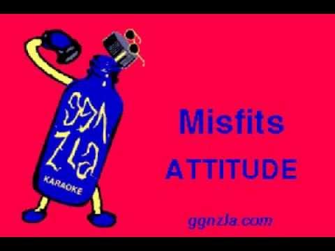 ggnzla KARAOKE 162, Misfits - ATTITUDE