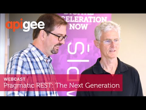 Pragmatic REST: The Next Generation