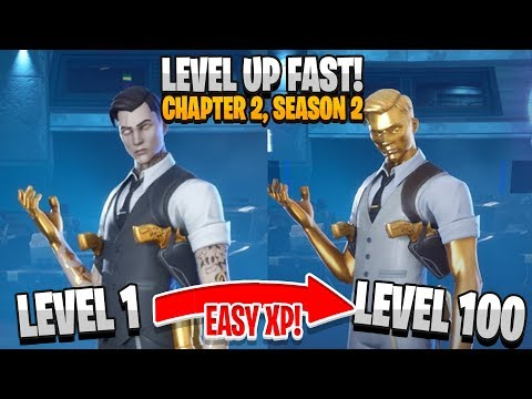 FASTEST Ways To Level Up + Gain XP In Chapter 2 Season 2! (Fortnite Battle Royale)