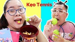Ăn Kẹo Singum Banh Tennis Troll Em Trai Nghịch Ngợm - Mùa Hè Bá Đạo
