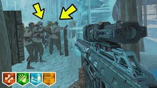 WE FOUND 2 GLITCHES IN AN ICE WUNDERLAND! w/CHAOTIC (Black Ops 3 Custom Zombies)