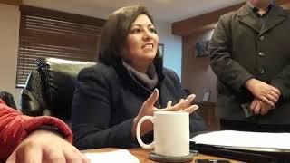Burócratas aceptaron ofrecimiento de la alcaldesa Nereida Fuentes